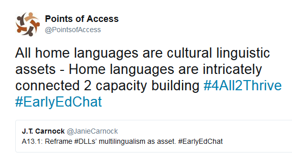 """Language Is Inextricably Connected To Culture"""